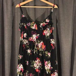 NWT TORRID SIZE 2 (18/20) Hi-Lo Maxi Dress